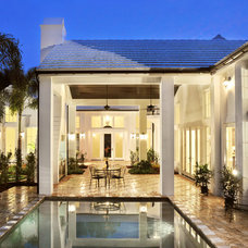 Traditional Pool by Jonathan Parks Architect