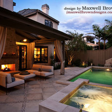 Traditional Pool by Maxwell Brown