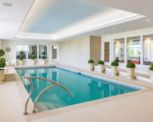 Our 25 Best Indoor Pool Ideas & Remodeling Photos | Houzz