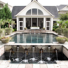 traditional pool by The Collins Group/JDP Design