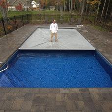 Traditional Pool by Waterworks Pools & Spas