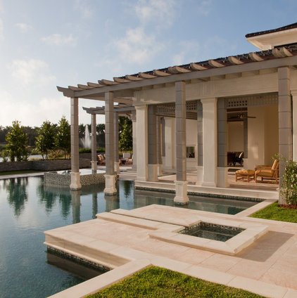 Transitional Pool by deakins design group