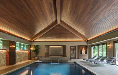 We Can Dream: Dive Into This Zen Pool House With Rustic Flair