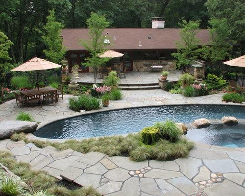 Kidney Shaped Lap Pool Design Ideas Renovations Photos