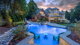 Transitional Style Outdoor Living