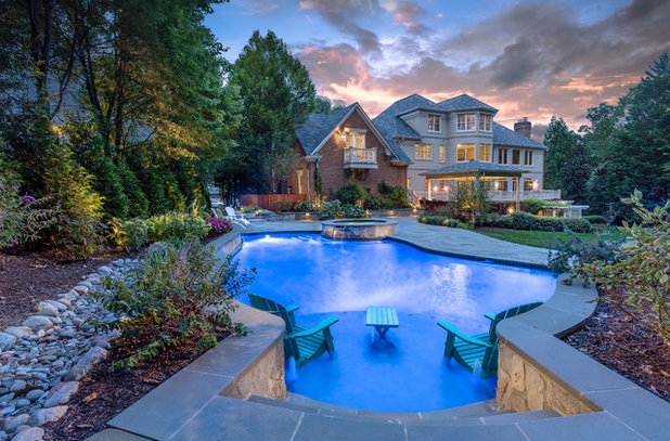 Transitional Pool by Pristine Acres