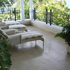 traditional patio by StoneMar Natural Stone Company LLC