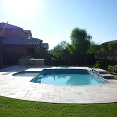 Contemporary Pool by MTH Design Group