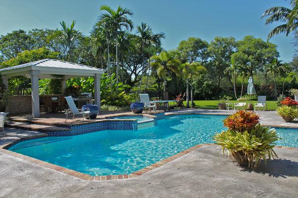 Tropical Pool by Maria Teresa Durr