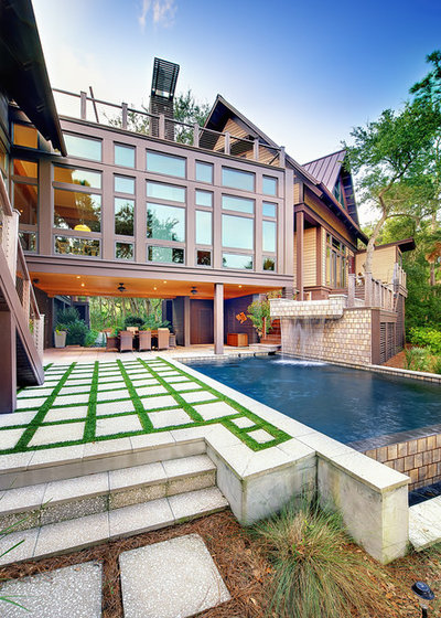 Contemporary Pool by The Anderson Studio of Architecture & Design