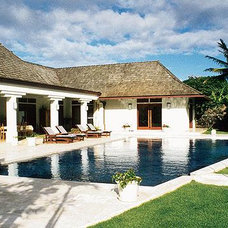 Tropical Pool Trigg-Smith Architects - Project - A Classic Tropical Home