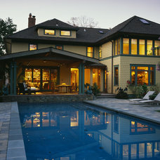 Craftsman Pool by Gardner Mohr Architects LLC