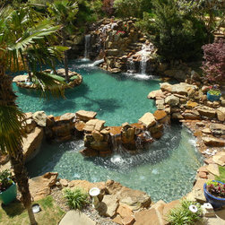 Natural pool design ideas pictures remodel decor with for Pool show discovery