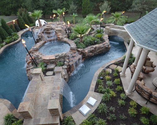 Lazy River Swimming Pool Designs where to find inground pool landscaping ideas backyard lazy riveringround Saveemail Mike Farley Pool Designer 34 Reviews Colleyville Residential Lazy River