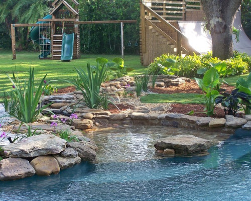Tropical Pool Design Ideas Remodels Photos