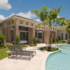 Tropical Pool by Eldorado Stone