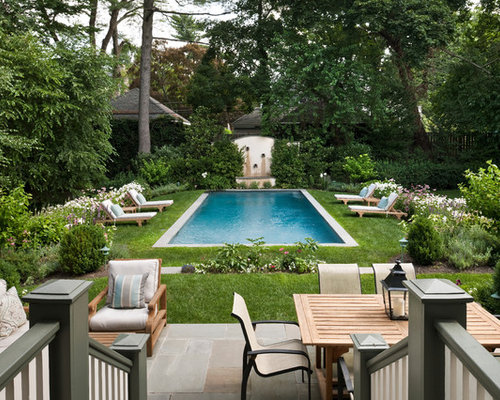 Old english garden home design ideas pictures remodel for Pool design new zealand