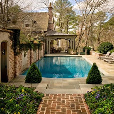 Traditional Pool by PAGE | DUKE Landscape Architects