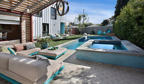 Think Turquoise to Energize or Soothe the Garden