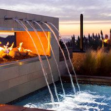 Contemporary Pool by Studio H Landscape Architecture