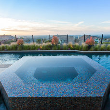 Contemporary Pool by Studio H Landscape Architecture