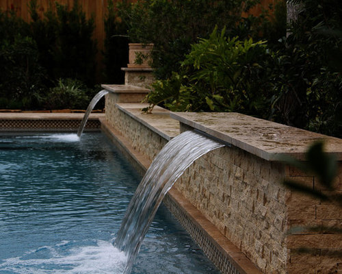 Swimming pool water feature design ideas remodel - Swimming pool water feature ideas ...