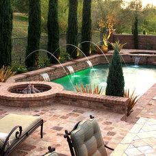 Mediterranean Pool by Swan Pools Southern California