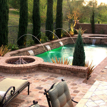 Tuscany Watering Hole - Swimming Pool Construction