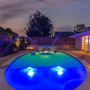 Twilight at Newport Beach Home