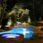 Natural Private Residence Traditional Pool Dallas
