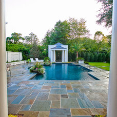 Traditional Pool by Josh Atkinson - Atkinson Aquatech Pools and Spas