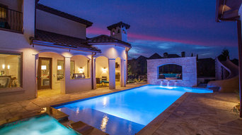 Upscale Texas home with Tuscany Series Vinyl Windows