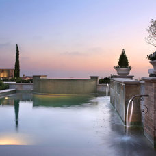 Mediterranean Pool by Urban Landscape