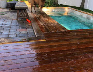Urban Small Backyard Makeover with Plunge Pool