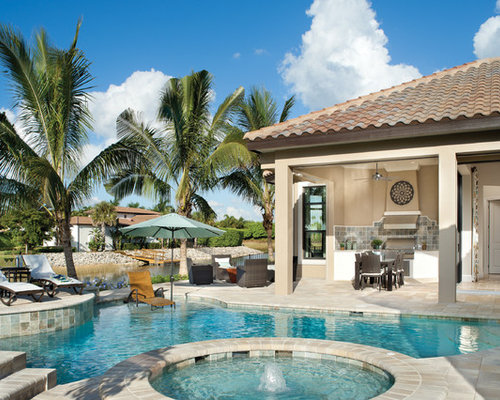 Mediterranean tampa pool design ideas pictures remodel for Pool design tampa