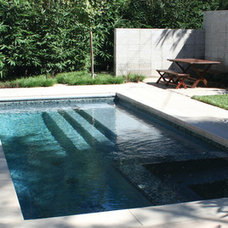 Contemporary Pool by BENT GRASS