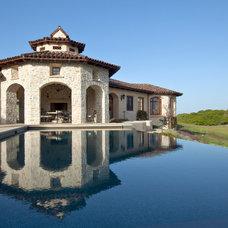 Mediterranean Pool by Ron Herman Landscape Architect