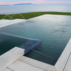 Contemporary Swimming Pools And Spas by Pacific Outdoor Living