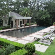 Contemporary Pool by Mystic Pools