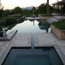 Tropical Pool by Watters Aquatech Pools & Spas