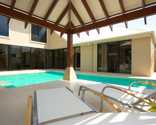 Asian brisbane pool design ideas remodels photos for Pool design brisbane