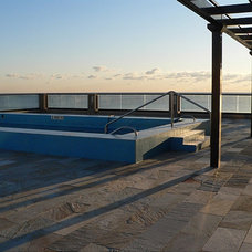 Traditional Pool by Complete Tile Collection