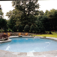 traditional pool by LDAW Landscape Architecture, PC