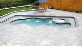 Various Projects Gunite Pools and Fibeglass Pools