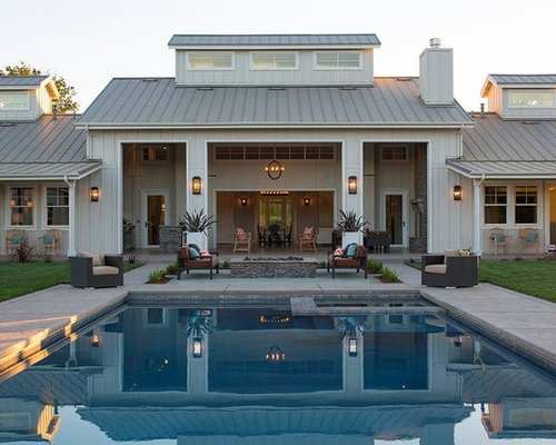 Modern Barn Farmhouse Guest House Pool House Garage