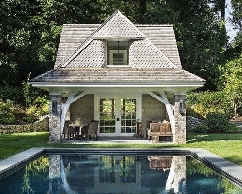 Victorian Prefab Cedar Pool Cabanas Home Design Ideas Photos