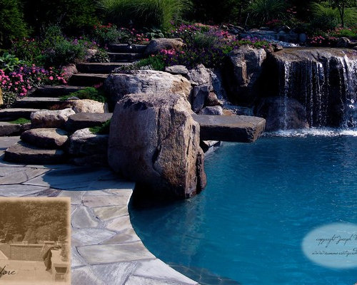 Best Swimming Pool Waterfalls Design Design Ideas & Remodel