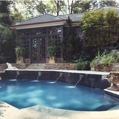 traditional pool by Edwards Architecture, Ltd