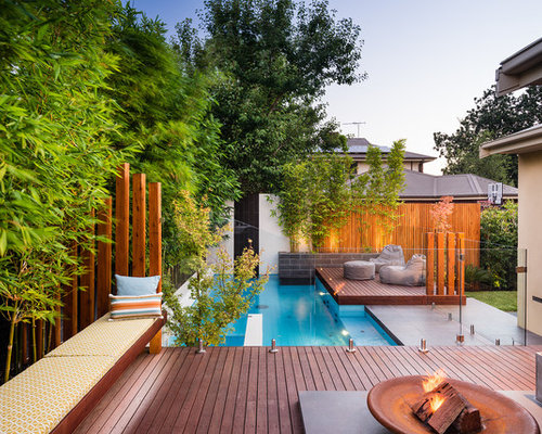 Houzz | Aboveground Pool Deck Design Ideas & Remodel Pictures