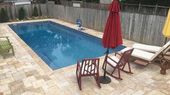 Viking fiberglass pool